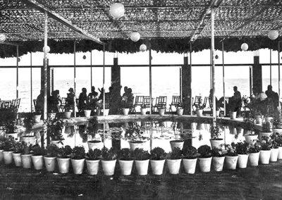 Interior Restaurant Pic Nic anys 70