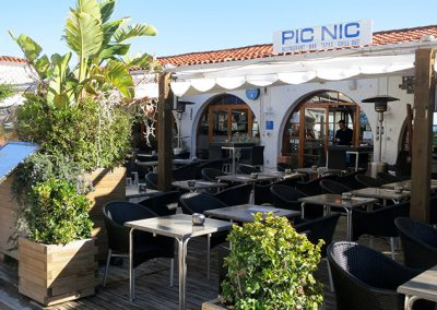 Façana del Restaurant Pic Nic