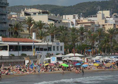 View of Waipiqui from the beach