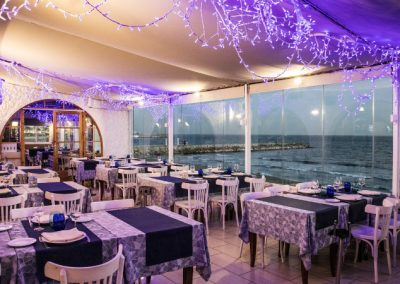 Dining room with sea views in Restaurante Pic Nic