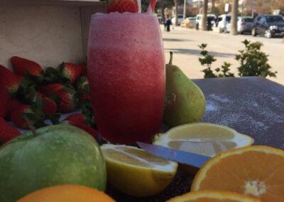 Suc de fruites al Pique Nique